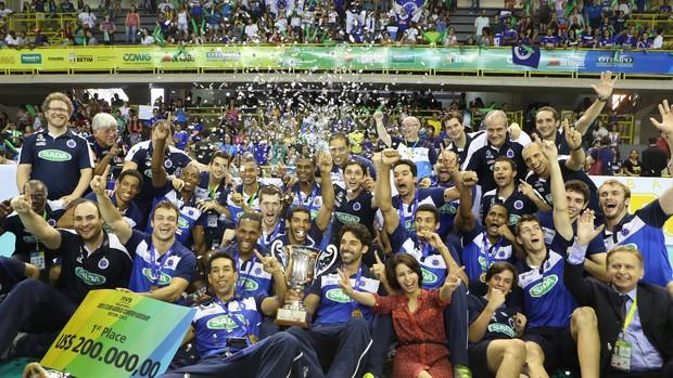 Cruzeiro é campeão mundial de vôlei (Foto: Divulgação/FIVB)