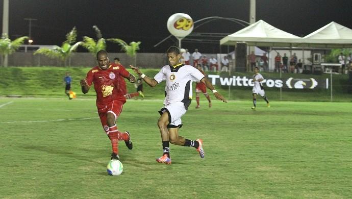 Globo FC x AMérica-RN (Foto: Canindé Pereira/Divulgação)
