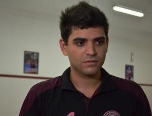 Guido ficou impressionado com o número de inscritos (Foto: Felipe Martins/GLOBOESPORTE.COM)