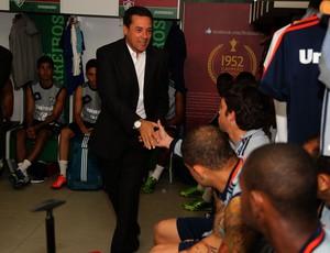 Vanderlei Luxemburgo apresentação Fluminense (Foto: Nelson Perez/Fluminense F.C.)