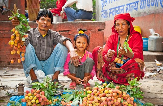 Lichia, fruta muito produzida e consumida na Ásia (Foto: iStock Photo)