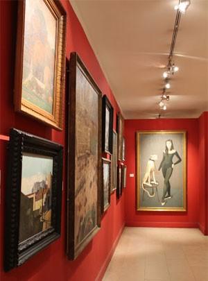 Obras dos séculos 19 e 20 no Museu Carnavalet (Foto: Ana Peliz/ G1)