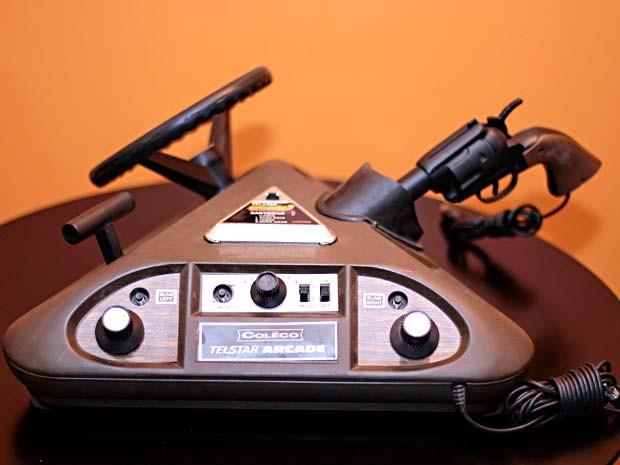 Console da coleção Testar Arcade, em exposição no VideoGameShow (Foto: Rayan Ribeiro/Divulgação)