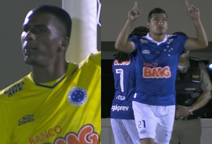 Jogadores estreiam pelo Cruzeiro (Foto: GloboEsporte.com)