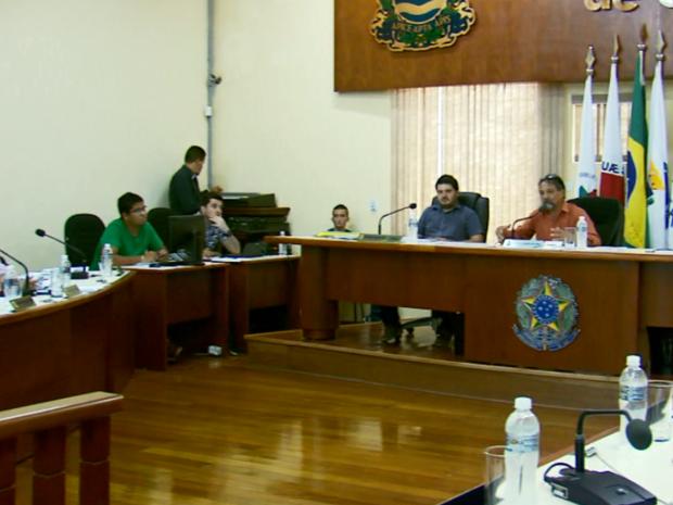 Câmara não acata pedido de afastamento de vereadores em Guaxupé (MG) (Foto: Reprodução EPTV)