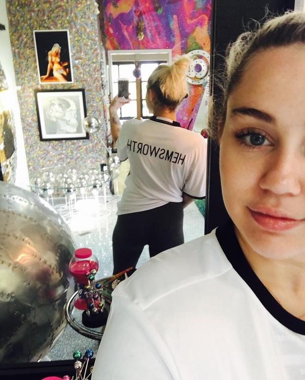 Miley Cyrus (Foto: Reprodução / Instagram)
