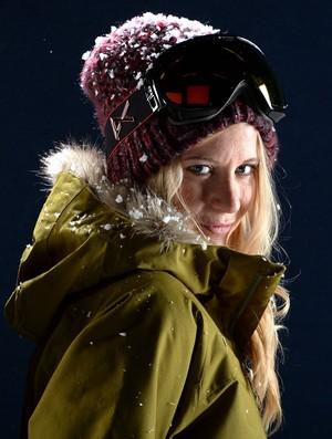 A musa Hannah Teter é um dos grandes nomes do snowboard nos EUA  (Foto: Getty Images)