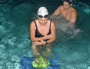 Hidroterapia treino aeróbico na água eu atleta (Foto: Divulgação)