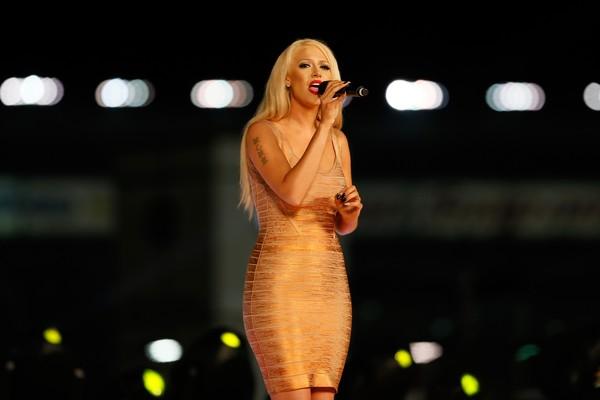 A cantora Kaya Jones, ex-Pussycat Dolls (Foto: Getty Images)
