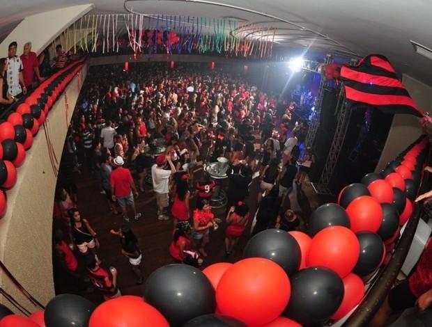Torcida no Baile Vermelho e Preto  (Foto: Alexandre Vidal e João Vitor / Fla Imagem)
