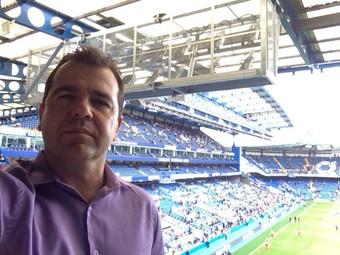 Enderson Moreira Chelsea Leicester (Foto: Divulgação)