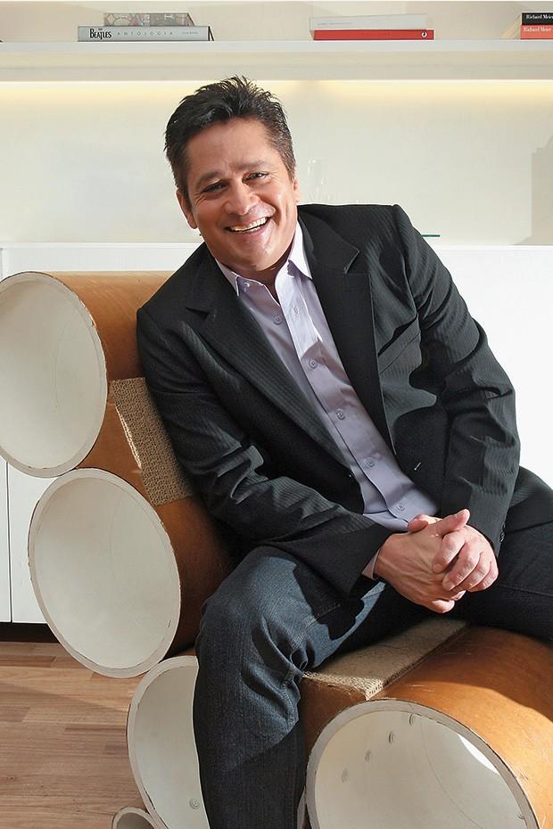 Leonardo (Foto: Tiago Bernardes/Editora Globo)