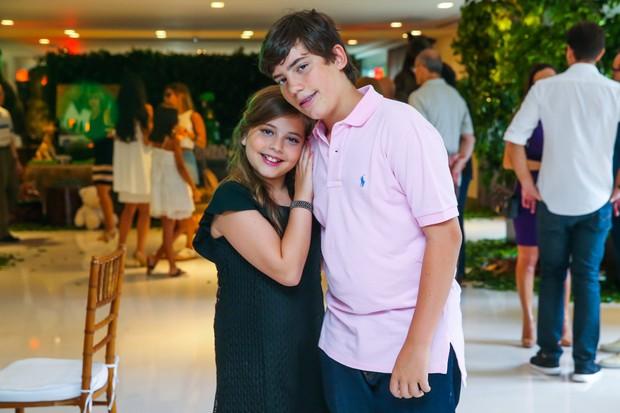 Lara e Eduardo (Foto: Manuela Scarpa/Brazil News)