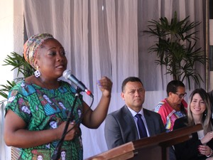 Haldaci Regina destacou importância de denúncias  (Foto: Beto Marques/G1)