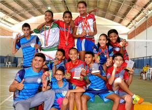 JEMs badminton (Foto: Paulo de Tarso Jr./Sedel)