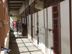 Local de onde os presos conseguiram fugir nesta sexta-feira (28). (Foto: André Almeida / Arquivo DP)