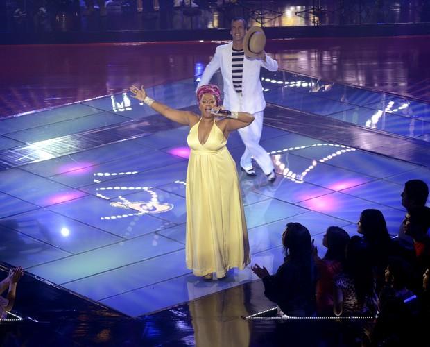 Karla da Silva Semifinal Carlinhos de Jesus (Foto: The Voice Brasil/TV Globo)