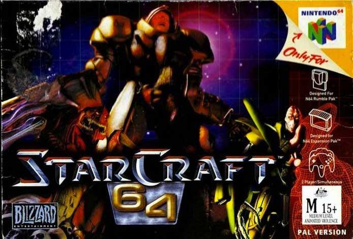 StarCraft 64 fez a Blizzard desistir dos consoles (Foto: Reprodução/GamesDBase)