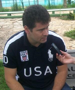 Júlio Sérgio, técnico Francana (Foto: Divulgação / AA Francana)