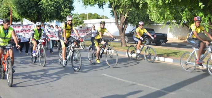 Pedal Roraima puxa a fila do evento Circuito Moto e Bike (Foto: Ivonisio Júnior)