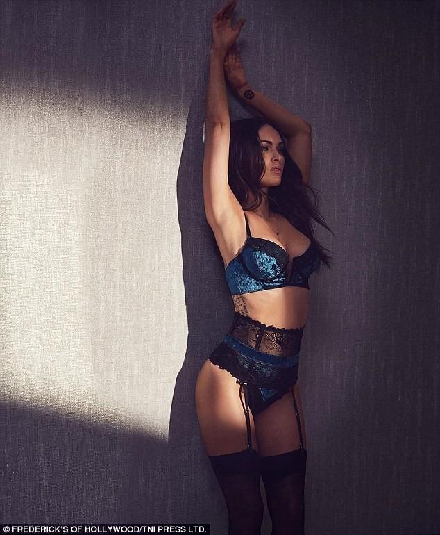 Megan Fox (Foto: Reprodução/ Frederick's of Hollywood)