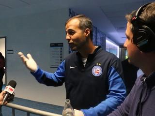 médico bahia grêmio arena (Foto: Diego Guichard/GloboEsporte.com)