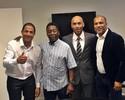 """Após """"deixar"""" Santos, Pelé se torna Presidente de Honra do Tricordiano"""