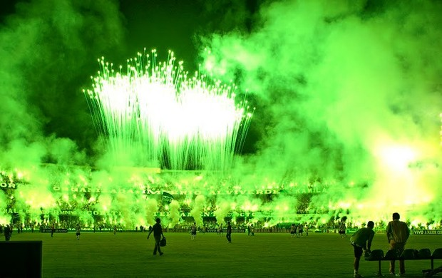 Green Hell da torcida do Coritiba (Foto: Andr&#233; Raittz/Divulga&#231;&#227;o)