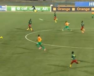 Serge N'Guessan, da Costa do Marfim, vence enquete de golaço internacional (Foto: Reprodução SporTV)