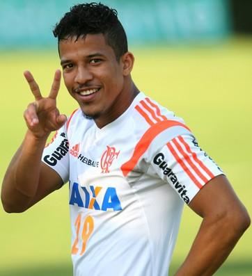 Nixon, Ninho do Urubu, treino, Flamengo (Foto: Gilvan de Souza/ Fla Imagem)