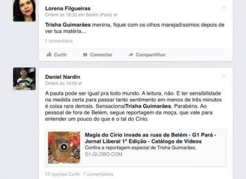 Círio 2013 (Foto: Reprodução/Facebook)