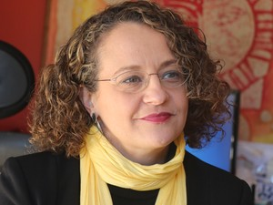 Luciana Genro é a candidata do PSOL à Prefeitura de Porto Alegre (Foto: Fabiana Bonugli/G1 )