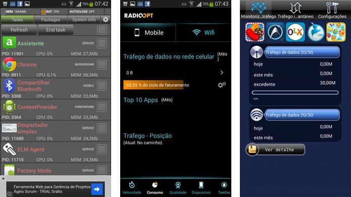 Controle melhor a utilização de seu 3G com apps como System Monitor, Traffic Monitor ou Net Counter (Foto: Reprodução/Daniel Ribeiro)