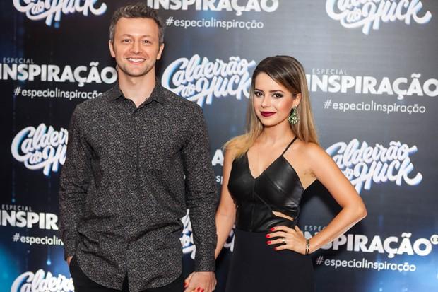 Lucas Lima e Sandy (Foto: Anderson Barros / EGO)