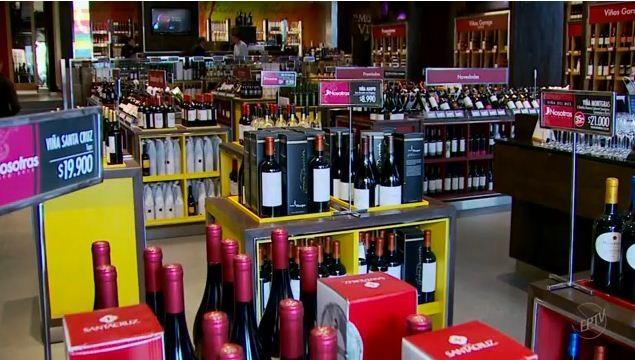 O Chile está entre os 10 maiores produtores de vinho do mundo (Foto: Reprodução EPTV)