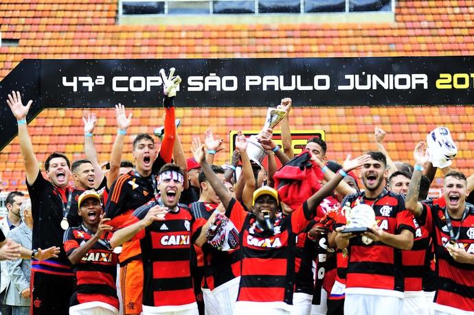 Flamengo - comemoração - campeão - Copinha (Foto: Marcos Ribolli)