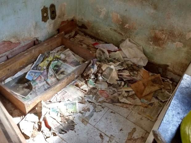 Casa será reformada com ajuda de grupo (Foto: Arquivo pessoal/ Carolina Gutierres)