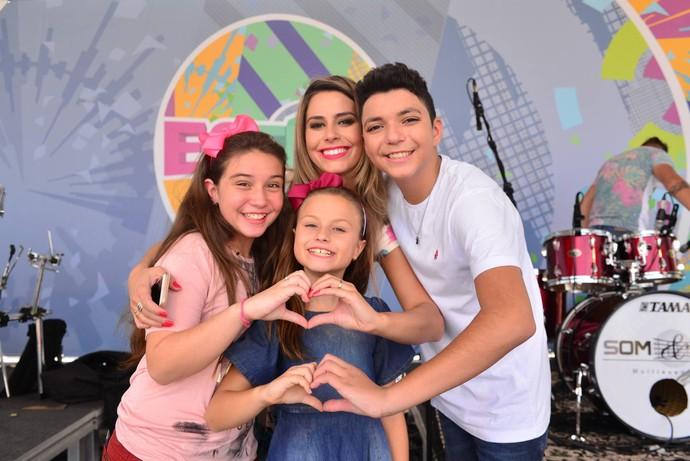 Estúdio C ao vivo com The Voice Kids (Foto: Priscilla Fiedler)