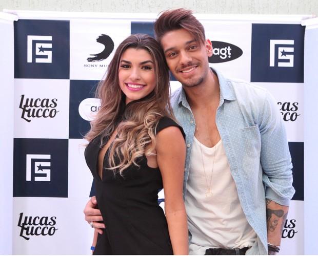 Lucas Lucco e Ana Paula Guedes (Foto: Carol Caminha/ GShow)