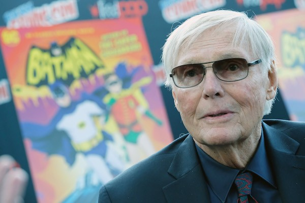 O ator Adam West, intérprete do herói Batman na TV (Foto: Getty Images)