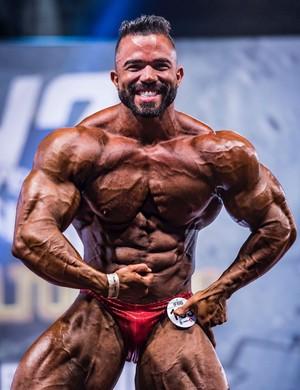 Edmundo Marques, fisiculturista (Foto: Kiko Sanches/ Arquivo pessoal)
