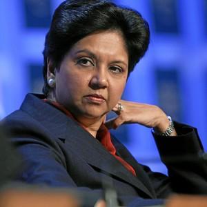 Indra Nooyi, CEO da Pepsi Co (Foto: Andy Mettler, World Economic Forum)