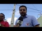 Caio Viana participa de carreata e ouve moradores em Campos, RJ