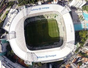 Arena Palmeiras (Foto: Drone Service Brasil)