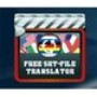 Free SRT File Translator