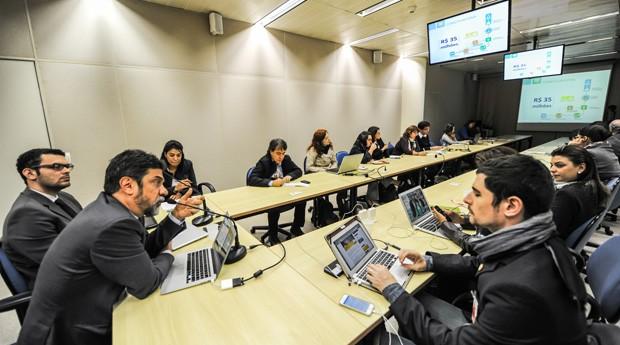Novidades do edital lançado foram apresentadas em coletiva de imprensa (Foto: Divulgação)
