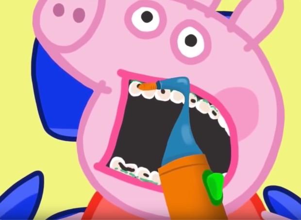 Parródia de Peppa Pig (Foto: Reprodução Youtube)