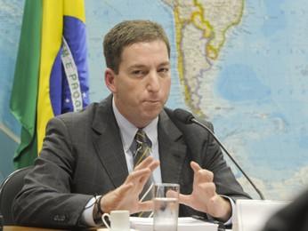"""O colunista Glenn Greenwald, do jornal britânico """"The Guardian"""", fala à Comissão de Relações Exteriores e Defesa Nacional  (Foto: Lia de Paula/Ag.Senado)"""