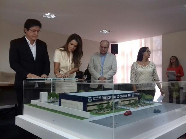 O investimento total será de R$ 4,3 milhões e as obras devem durar 8 meses (Foto: Ediana Miralha/Inter TV Cabugi )