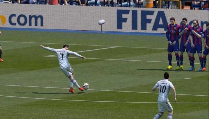 Fifa 15 gol home (Foto: Reprodução / TechTudo)